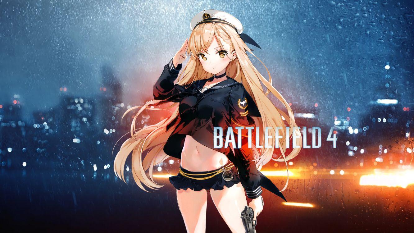 Обои одежда, анимационное музыкальное видео, девушка, видеоигра, аниме в разрешении 3840x2160