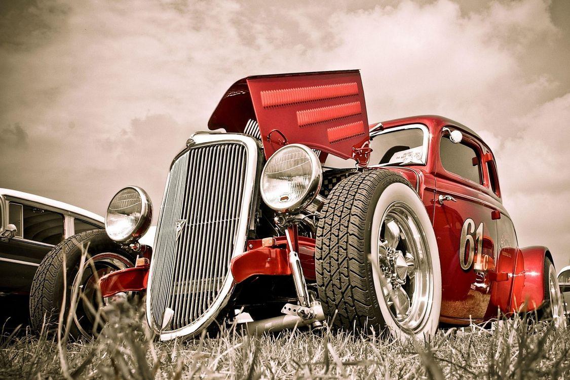 Винтажный автомобиль картинка