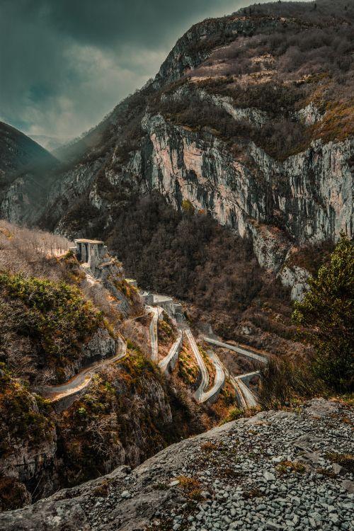 Обои национальный парк, коренная порода, горный перевал, лист, обнажение в разрешении 4000x6000