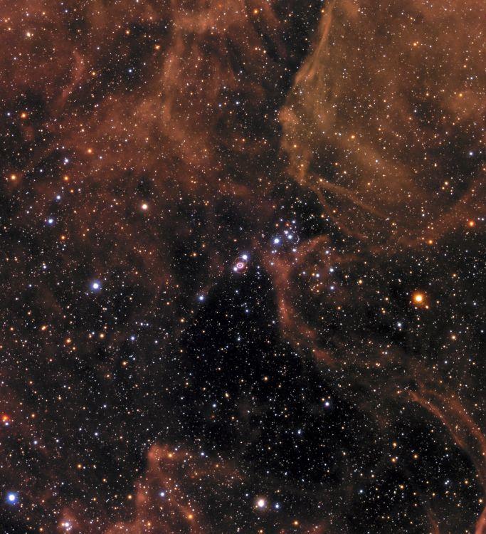 Обои космический телескоп Хаббл, сверхновая звезда, Галактика, большое Магелланово облако, Астрономия в разрешении 2004x2200