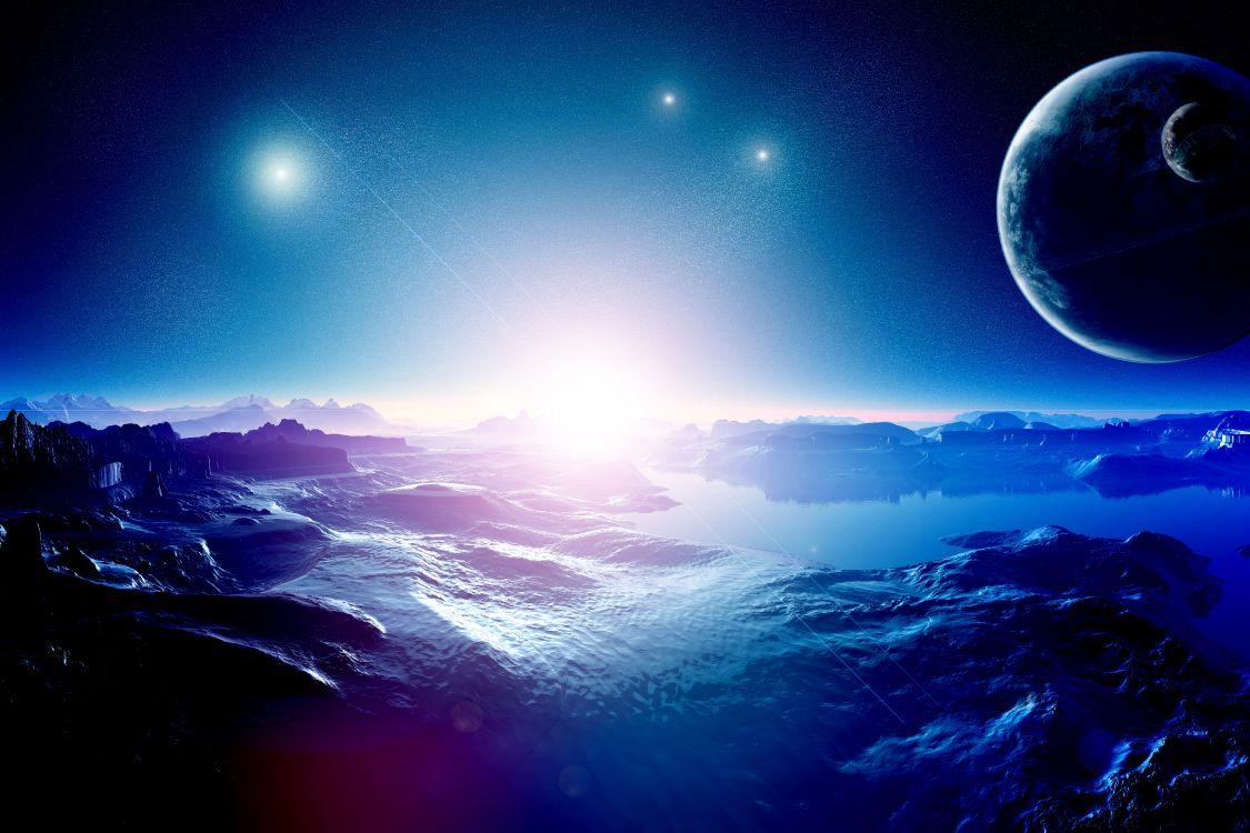 Красивые картинки космосом