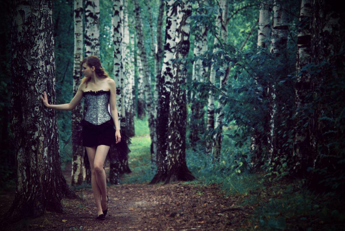 зелая в лесу фото нужно