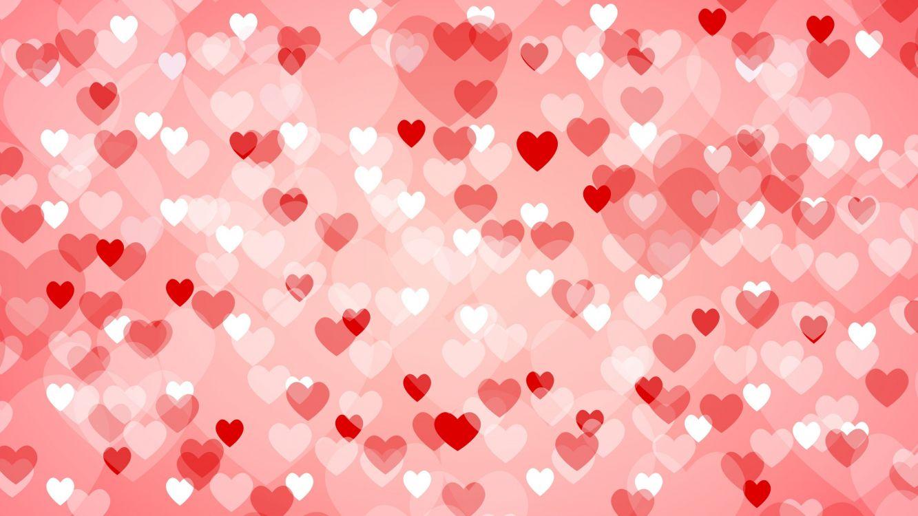 Картинки на фоны с сердечками